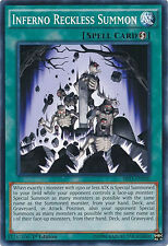 Inferno Reckless Summon Common 1st Edition Yugioh Card SR03-EN030