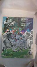 The Saturday Evening Post Magazine September 21st 1968 Look Inside Pro Football