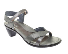 Naot Footwear Cheer Silver Leather Sandals 6715 Size 10US/41