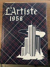 Springville High School * 1958 Yearbook The L'Artiste * Springville Utah