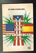 Carmelo Rosario Natal Puerto Rico Y La Crisis De La Guerra Hispanoamericana