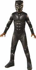 Black Panther Child Boys Costume Size S Small 4-6 NEW