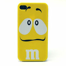 M 'n' M iPhone 4/4s Hard Case Yellow ❤Aus❤