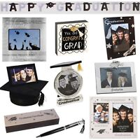 Graduation Gifts - Photo Frame, Certificate Holder, Pen, Banner or Memory Box