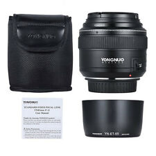 YONGNUO YN85mm 85mm F1.8 Lens Kit for Canon 80D T6I T6 70D 5D 6D T7I 77D  Filter