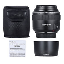 YONGNUO YN85mm 85mm F1.8 Lens Kit for Canon 80D T6I T6 70D 5D 6D T4I 750D Filter