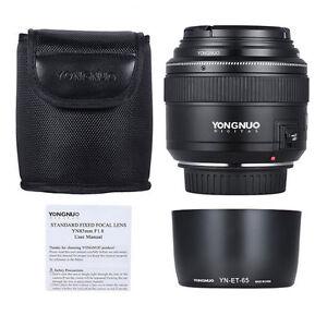 YONGNUO YN85mm 85mm F1.8 Lens Kit for Canon 80D T6I T6 70D 5D 6D T7I 77D  Filter