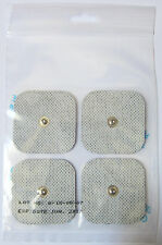 Pack of 40 Square Electrode Pads Snap compatible Compex (ems/tens)