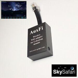 AuxFi - AUX port WiFi adapter for Celestron GoTo mounts