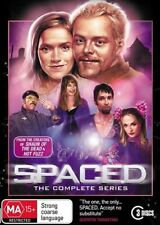 Spaced-THE COMPLETE SERIES- (3-Disc Set)-DVDS LIKE NEW R4 *SCUFF MARKS ON COVER*