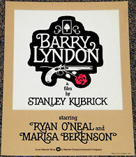 BARRY LYNDON 1975 ORIG. 14x11 MOVIE POSTER! STANLEY KUBRICK 18th CENTURY CLASSIC