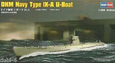 Hobby Boss 83506 DKM Navy Type IX-a u Boot IX a-nuevo 1:350