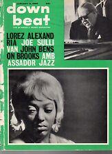 1964 Down Beat January 2-Jazz in Hong Kong;Joe Sullivan; Lorez Alexandria;Brooks