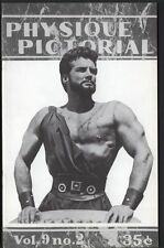 Gay art Bob Mizer's Physique magazine Steve Reeves Hercules cover Spartacus