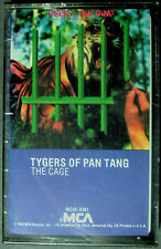 Tygers Of Pan Tang--The Cage (Cassette, 1982, MCA) NEW