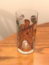 ELVIS PRESLEY DRINKING GLASS WITH GOLD LEAF PICTURES ~ E.P.E. 1988