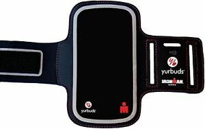 Yurbuds Ironman Series Universal Smartphone Ergosport Armband, Black