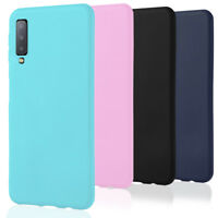 Phone Case for Samsung Galaxy A7 (2018) Back Mobile Cover Soft Ultraslim Bumper