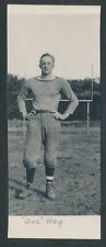 1913 DOG HEG Washington State U. Football Real Photo Postcard