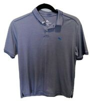 Tommy Bahama Polo Navy Blue Supima Cotton Blend Polo Men's Medium