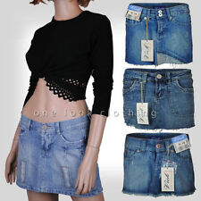 Unbranded Denim Extra short, Micro-mini Skirts for Women