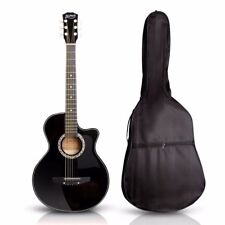 Alpha GUITAR38BK Right-Handed Acoustic Guitar