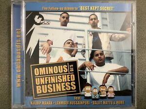 Unfinshed Business By Ominous DJs - Bhangra CD