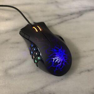 Custom Modified Blue Razer Naga Molten Gaming Mouse