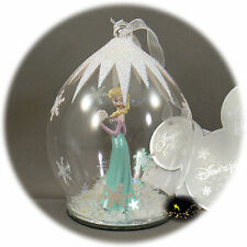 Disneyland Paris - Frozen Elsa - Christmas Ornament - Bauble + Map of the parks