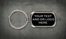 Custom Personalized Key Chain, Your Text or Logo Car Club School Sport Team Gift