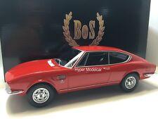 BoS Models 1/18 Fiat Dino 2000 Coupè - Ferrari Engine 1966 Red Art. BOS025