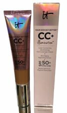 It Cosmetics CC+ Color Correcting Full Coverage & Anti Aging Serum SHADE DEEP