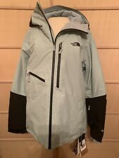LADIES The North Face Lostrail Insulated Ski Jacket X-S CLOUD BLUE/TNF BLACK NWT