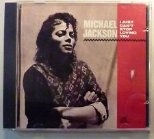 """CD by MICHAEL JACKSON """"I CAN'T STOP LOVING YOU"""" PROMO"""