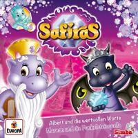 SAFIRAS - 006/ALBERT UND DER WERTVOLLE RAT/MAREON UND DIE   CD NEU