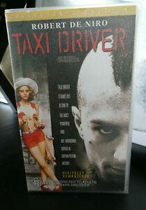 Taxi Driver VHS Collectors Edition Robert De Niro Jodie Foster R18+ Cult