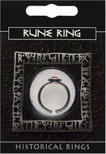 Rune VIKING Peltro Gem Ring