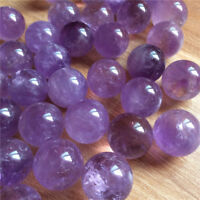 Natural Amethyst Quartz Sphere Crystal Pretty Ball Healing Purple Stone UK