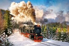 Puzzle Castorland 1000 Teile - Dampflokomotive (51155)