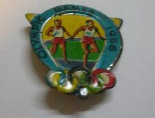 1956 OLYMPIC GAMES MELBOURNE AUSTRALIA Olympics Sport Pin RELAY RACE VERY RARE!!