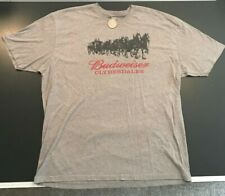 USED XXL BUDWEISER CLYDESDALES TSHIRT N LEVEL SUPERBOWL! CLASSSIC!