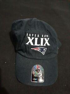 New England Patriots Super Bowl XLIX '47 Brand Snap Back Hat NOS