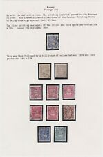 Norway-1897 The printer Christen Knudsen produced postage due stamps