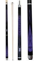 Champion Sport Purple Spider Billiards Pool Cue Stick(3/8X10 ),Cuetec Glove