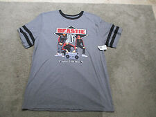 NEW Beastie Boys Solid Gold Hits Shirt Adult Extra Large Gray Hip Hop Rap Tee