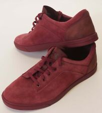 UGG Australia Bueller Mens Burgundy Red Suede Leather Oxford Shoes Sneakers 10.5