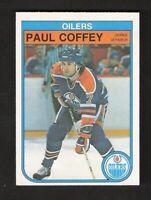 1982-83 OPC O-Pee-Chee PAUL COFFEY #101 NEAR MINT+ Hockey Edmonton Oilers