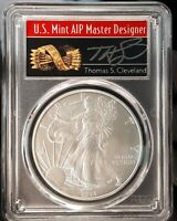 2013 (S) $1 American Silver Eagle Dollar 1oz PCGS MS70 Thomas Cleveland Arrows