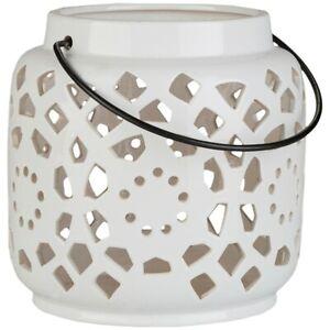 Avery Small Lantern by Surya, White - AVR929-S