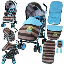 iSAFE Stroller - Idid It Design Complete With Footmuff Headhugger Raincover BU